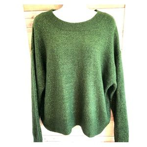 H & M Rich Green soft sweater. Size M